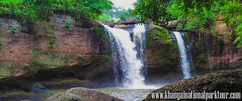 Haew Suwat Waterfall (Khao Yai National Park, Nakhon Ratchasima ,Khao Yai National Park Tours from Bangkok