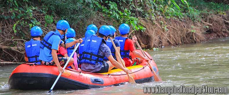 Khao Yai SimilarTours from Bangkok to Nakhon Nayok Province, Enjoy to White water rafting along the River