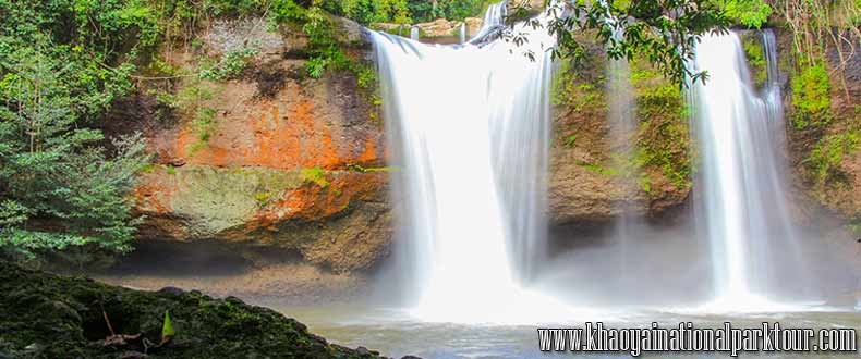 Haew Suwat Waterfall (Khao Yai National Park, Nakhon Ratchasima ,Khao Yai National Park Tours from Bangkok