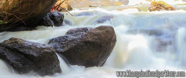 Nang Rong Waterfall at Nakhon Nayok Province Thailand,Adventure nakhon nayok tour