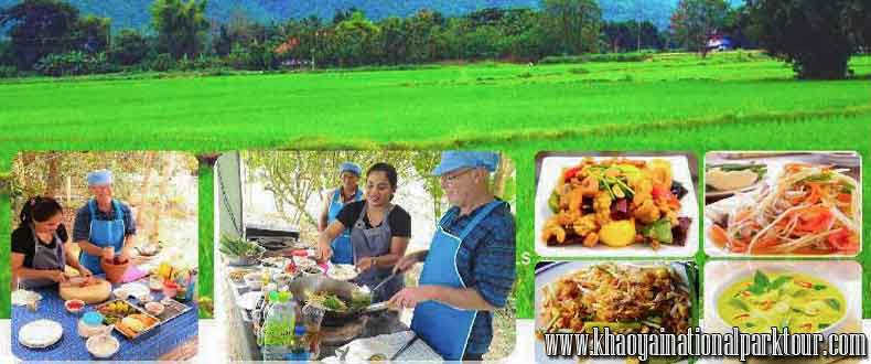 Learn to Cooking Thai way life tour culture learning, Thai Touch Tour Nakhon Nayok